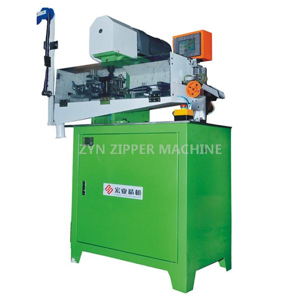 HY-101J Full-Auto Metal Zipper Gapping Machine (CNC Location)