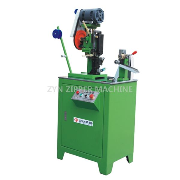 HY-112J Full-Auto Metal Zipper Bottom Stop Machine(Wire)