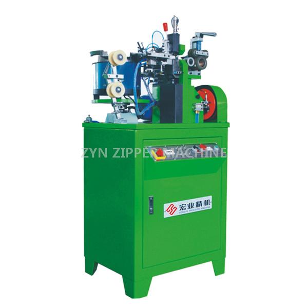 HY-112JG Full-Auto Metal Zipper Bottom Stop Machine(H Type Transmission)