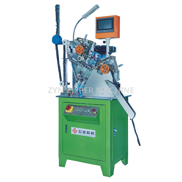 HY-133J-D Auto Metal Zipper Slider Mounting Machine(Special Tape Dragging)