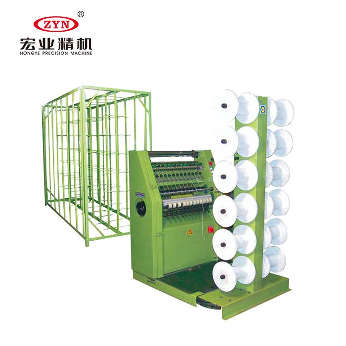 HY-114JC High speed zipper centre line knitting machine